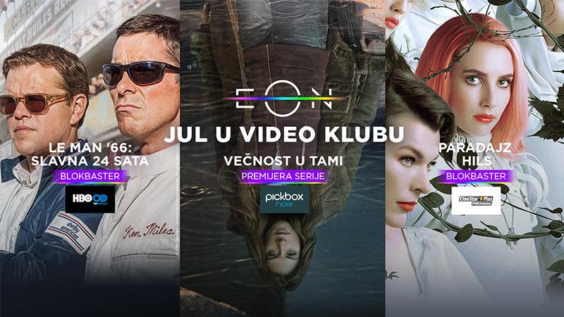 Nove serije i filmovi u EON Video Klubu